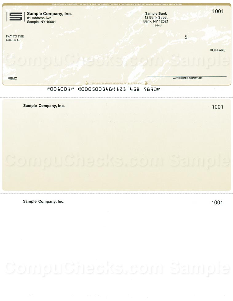 Law cheap check ordering